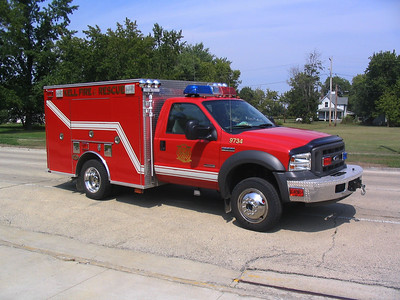 KELL FPD RESCUE  9734  2005  FORD F550 4X4X - KME  OFFICERS SIDE