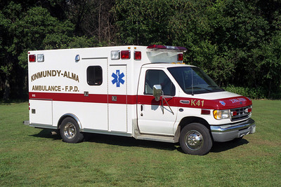 KINMUNDY-ALMA FPD  AMBULANCE 40