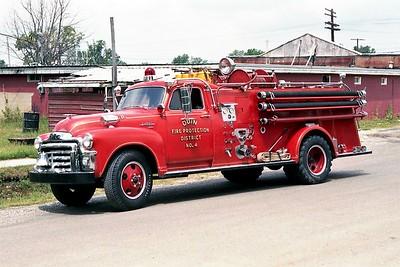 ODIN FPD  ENGINE 4  1953  GMC - HOWE   500-500
