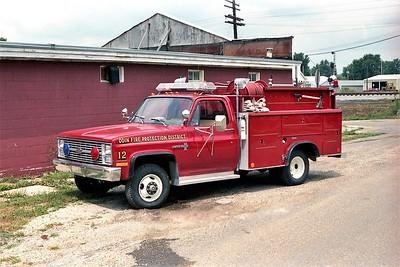 ODIN FPD  RESCUE 12  1983 CHEVY 4X4 - AUTO TRUCK   350-250