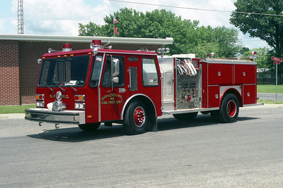 SANDOVAL FPD,IL   ENGINE 18