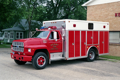 HENRY  RESCUE 1   1988 FORD F600 - ALEXIS