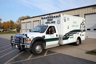 HENRY AMBULANCE 1-T-16  2008 FORD F450 - MEDTEC   #2097