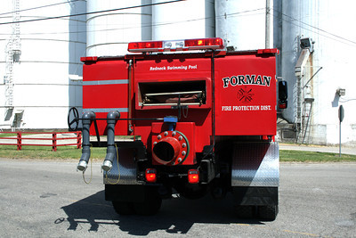 FORMAN FPD  TANKER 43-T   REAR VIEW