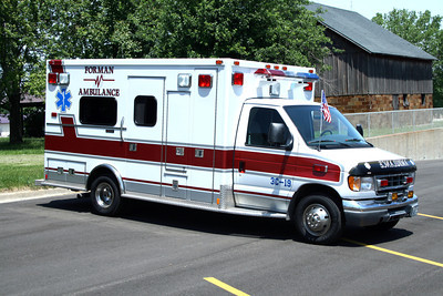 FORMAN AMBULANCE  3C-19   FORD E-450 - MEDTEC