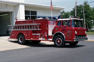 METROPOLIS FD  ENGINE 2  FORD C-TOWERS
