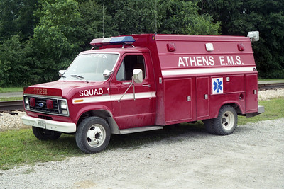 ATHENS SQUAD 1  1996 CHEVY - STAHL