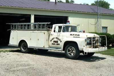 FANCY PRARIE   ENGINE 4  1958 FORD F700 - ALEXIS  500-500   X-MANLIUS FPD