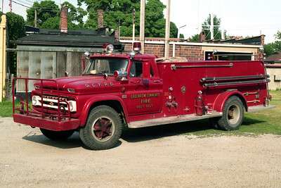 GREENVIEW  ENGINE 2  1966 CHEVY C60 - ALEXIS  750-1000