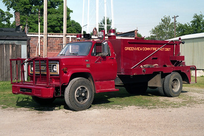 GREENVIEW  TANKER 3  1977 CHEVY C65 - FD BUILT  250-1500