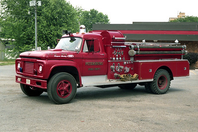 PETERSBURG  ENGINE 1  1967 FORD F650 - BEAN  750-500