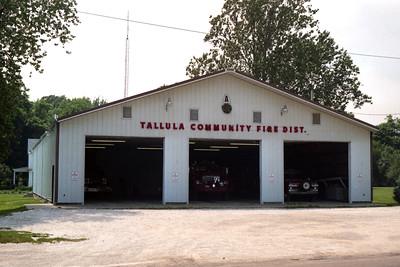 TALLULA  COMMUNITY FPD STATION