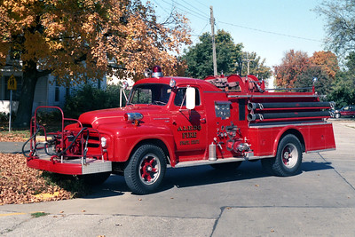 ALEDO  ENGINE 2  1954 IHC - HOWE   500-750
