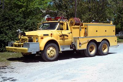KEITHSBURG  TANKER 2  1973 GMC - FD BUILT  500-1500  X-ROSEVILLE FD,CA