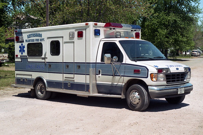 KEITHSBURG  AMBULANCE 1  1995 FORD E-350 - MEDTEC