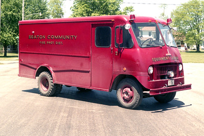 SEATON  RESCUE 1  1953 IHC - BOYERTOWN