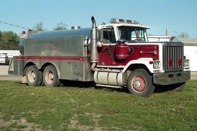 SHERRARD  TANKER 4  1985 GMC - SEMO  0-3000