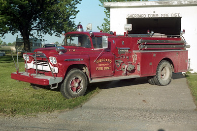 SHERRARD  ENGINE 2  1959 CHEVY - HOWE  500-750  X-PREEMPTION FPD IL