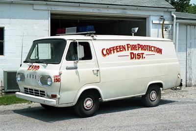 COFFEEN   RESCUE 150   1966 FORD ECONOLINE VAN