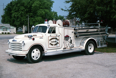 FARMERSVILLE   ENGINE 1  1953 CHEVY - CENTRAL ST LOUIS  500-300