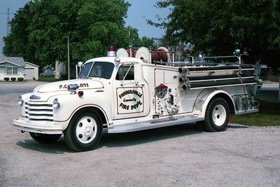 FARMERSVILLE   ENGINE 1  1953 CHEVY - CENTRAL ST LOUIS  500-300