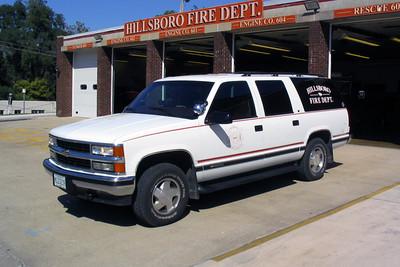 HILLSBORO CAR 600  1997 CHEVY SUBURBAN 1500