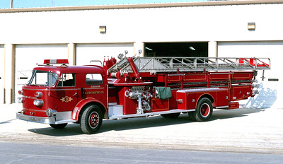 LITCHFIELD LADDER 3  1960 ALFCO  1000-0-100'   X-PEKIN FD