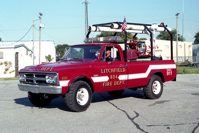 LITCHFIELD  BRUSH 804   1968 GMC - FD BUILT  250-250