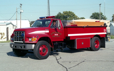 LITCHFIELD  TANKER 808   1996 FORD F - SUPERIOR