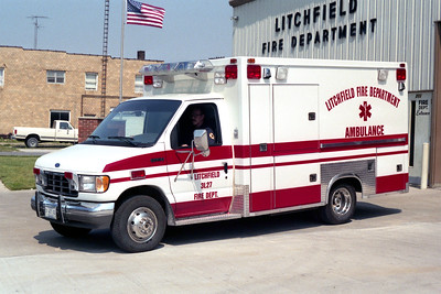 LITCHFIELD  AMBULANCE 3-L-27   1991 FORD E350 - TAYLOR MADE