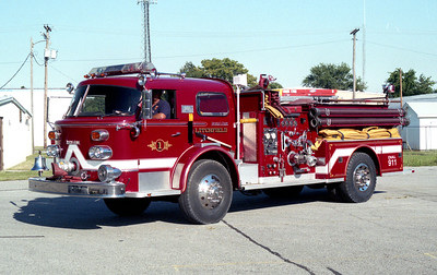 LITCHFIELD  ENGINE 801  1973 ALFCO  1250-500