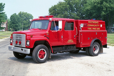 RAYMOND RESCUE 2-1   1981 IHC S - ASTORIA