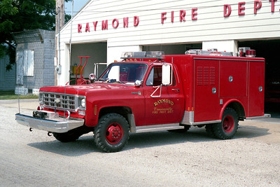 RAYMOND  RESCUE 4  1978 CHEVY - MARION