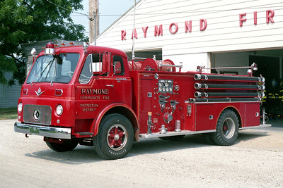 RAYMOND  ENGINE 3  1967 IHC VCO190 - BOYER  750-750