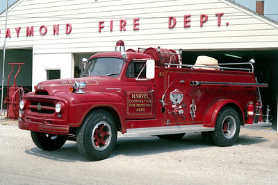 RAYMOND ENGINE 2  1952 IHC - CENTRAL ST LOUIS  500-500