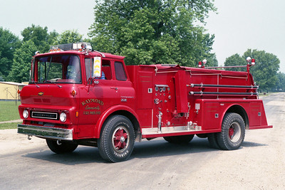 RAYMOND  TANKER 2-1  1976 CHEVY - TOWERS   250-1200