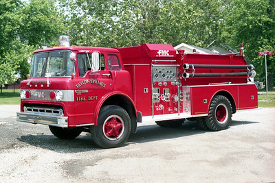 TAYLOR SPRINGS FD  ENGINE 1  1979  FORD C - FMC   750-750
