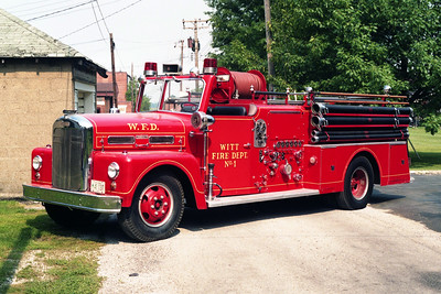 WITT  ENGINE 301  1956 WLF FIREBALL  1000-300  X-CAT PLAT @ AURORA