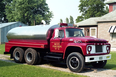 WITT  TANKER 302  1965 FORD SUPER DUTY - CERTIFIED TANK  0-1900