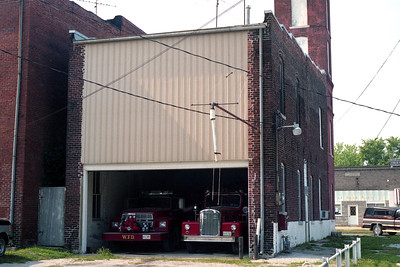 WITT VFD STATION  OLD REAR APPARATUS BAY