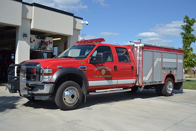 JACKSONVILLE SQUAD 1351   2008 FORD F550 4DR 4X4 - FOUTS BROTHERS       BILL FRICKER PHOTO