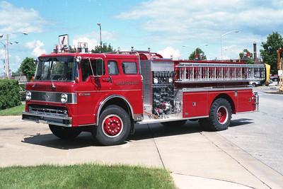 JACKSONVILLE  ENGINE  FORD C8000 - PIERCE