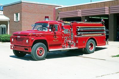 ARTHUR FPD  ENGINE 22  1969  FORD F950 - HOWE   1000-800
