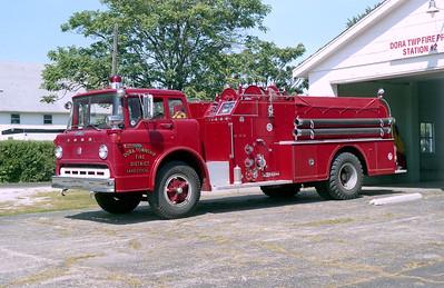DORA   ENGINE 1  1974 FORD C-800 - HOWE  750-1000 # 14092