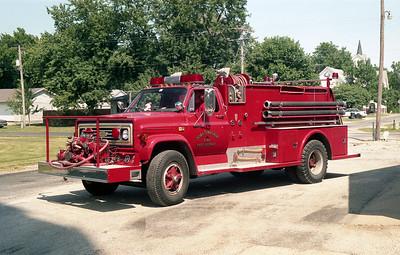 DORA   ENGINE 1   1982 CHEVY C70 - TOWERS   750-500  # 1767