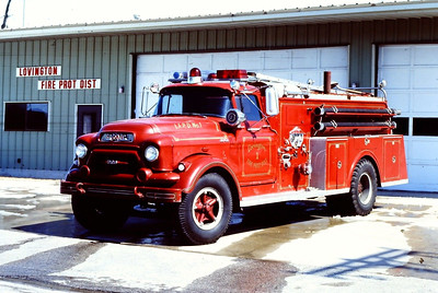 LOVINGTON ENGINE 1  1957 GMC - CENTRAL ST LOUIS