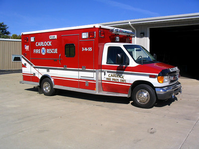 CARLOCK FPD AMBULANCE 3-N-55