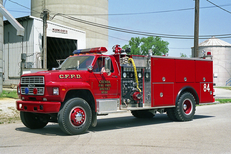 CHENOA FPD  ENGINE 84   1986  FORD F-PIERCE  750-1000  E-3429