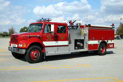 DALE TOWNSHIP FPD  ENGINE 146  1996  IHC 4900 - PIERCE   1250-1000    E-9781