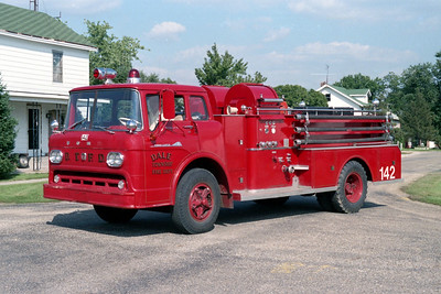 DAKE TOWNSHIP FPD - COVELLE ENGINE 142  1959  FORD C - JOHN BEAN   HP-750